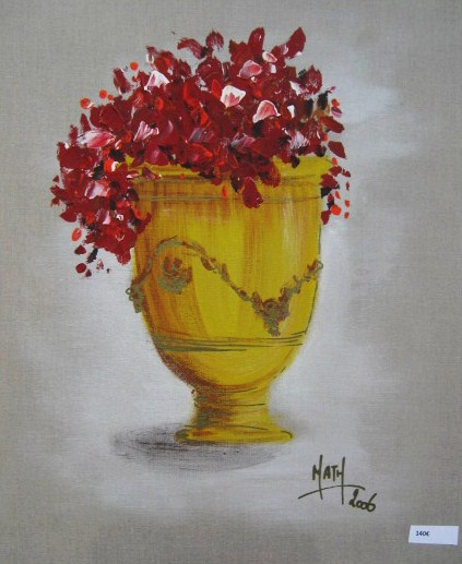 BOUGAINVILLEE ROUGE - Nathalie Manzano