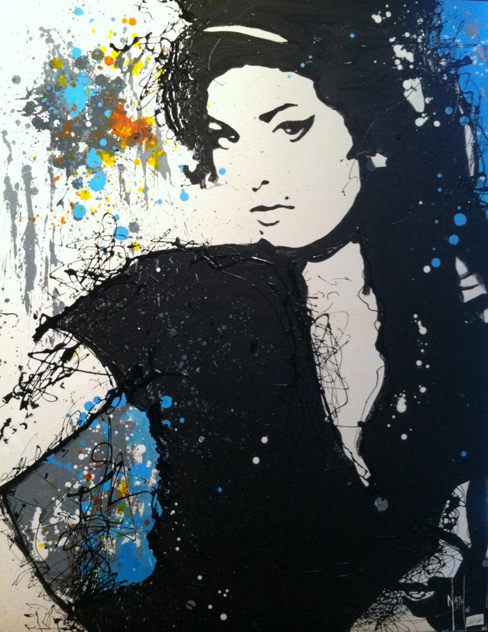 AMY WINHOUSE - Nathalie Manzano